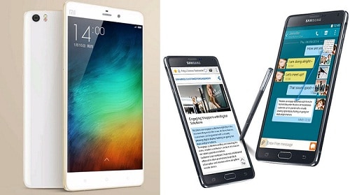 Xiaomi Mi Note Pro vs Galaxy Note 4 kualitas kamera, Xiaomi Mi Note Pro vs Galaxy Note 4 kapasitas memori, Xiaomi Mi Note Pro vs Galaxy Note 4 harga dan spesifikasi, Xiaomi Mi Note Pro vs Galaxy Note 4 gambarnya, Xiaomi Mi Note Pro vs Galaxy Note 4 ukuran layar