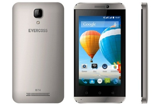 Harga Evercoss Winner T3, Hp Android Lillipop 4G LTE Kamera 5 MP