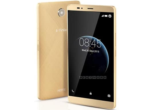 Harga Infinix Note 2, Hp Android Lollipop 4G LTE