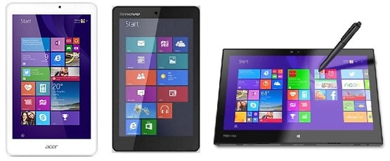 Harga Tablet Windows, Pesaing Android dan iPad