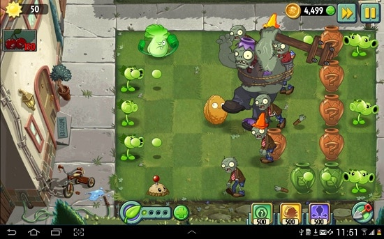Game Zombie Android Terbaik Plant vs Zombie