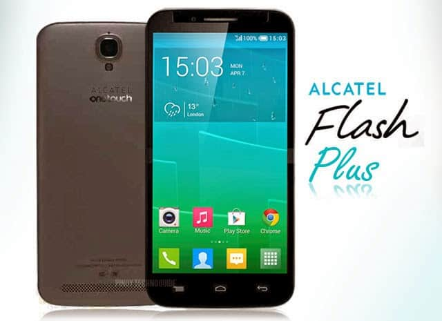 Ponsel Kamera Depan 8MP Spek Tinggi, Alcatel Flash Plus