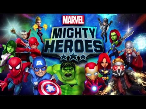 Game Action Android Terbaik dan Paling Bagus, Marvel Mighty Heroes