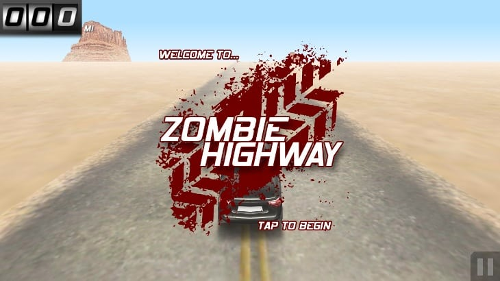 Game Zombie IPhone Terbaik dan Terlaris, Zombie Highway
