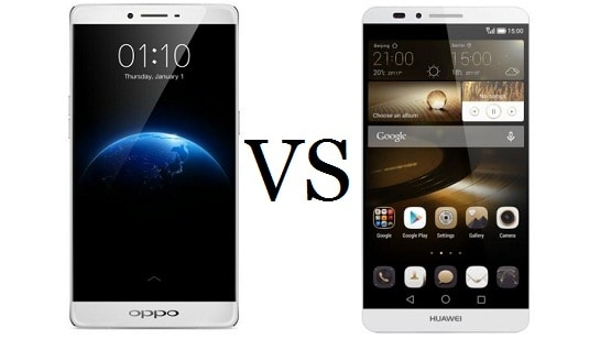 Oppo R7 Plus vs Huawei Ascend Mate7, Adu Phablet 6.0″