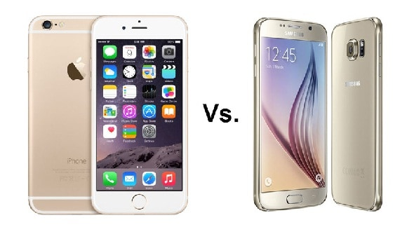 Adu Samsung iPhone 6s vs Galaxy S6