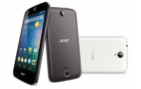 Harga Acer Liquid Z320, Hp Android lollipop Layar 4.5 inch