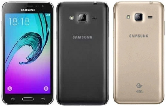 Harga Samsung Galaxy J3, Ponsel Android Lollipop RAM 1 GB CPU Quad-core 1.2 GHz
