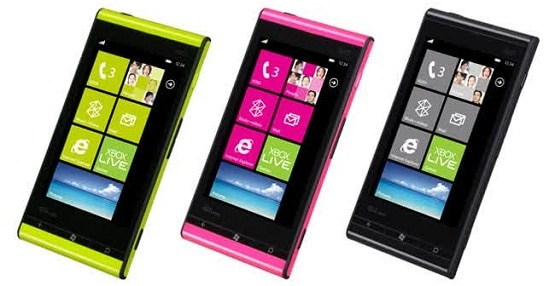 Harga HP Toshiba Windows Phone Fujitsu IS12T