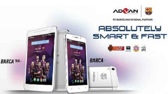 Harga HP Advan Barca Series