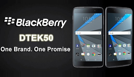 Harga BlackBerry DTEK50, Smartphone Android RAM 3 GB CPU Octa Core