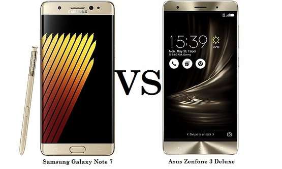 Samsung Galaxy Note 7 vs Asus Zenfone 3 Deluxe, Adu Flagship 5.7