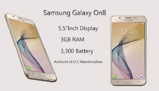 Harga Samsung Galaxy On8, Kamera 13 MP RAM 3 GB 3 Jutaan