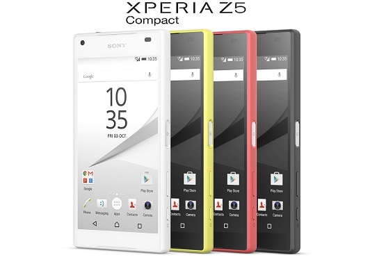 Adu iPhone SE vs Sony Xperia Z5 Compact