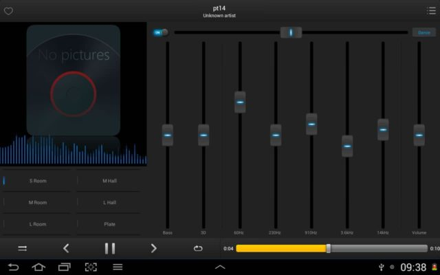 Equalizer + mp3 Player hp android