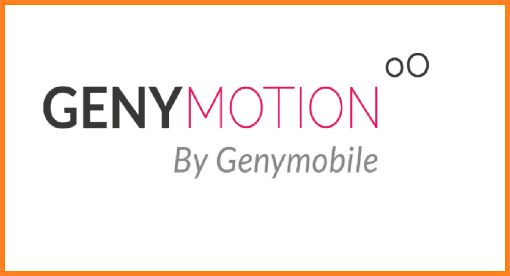 geny motion emulator android